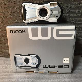 リコー(RICOH)のRICOH 防水デジタルカメラ RICOH WG-20(コンパクトデジタルカメラ)