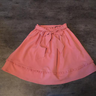 ロディスポット(LODISPOTTO)のLODISPOTTO リボンスカート(ひざ丈スカート)