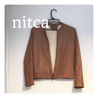 nitca◎定番ラムレザージャケット
