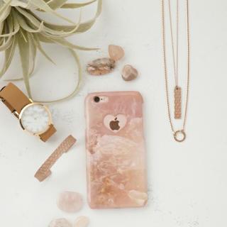 パピヨネ(PAPILLONNER)の美品♡PAPILLONNER♡ i Phone6 6s case♡大理石風(iPhoneケース)