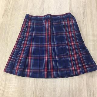 【佐藤ソルト】チェックスカート(ミニスカート)