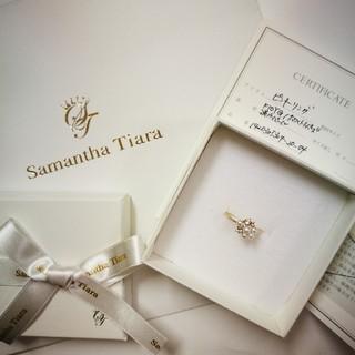 サマンサティアラ(Samantha Tiara)の新品★4号サマンサティアラ 紗栄子コラボ ピンキーリング(リング(指輪))
