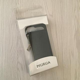 ムルーア(MURUA)のMURUA ムルーア コインケース ミラー付き iPhone6 6S 7(iPhoneケース)