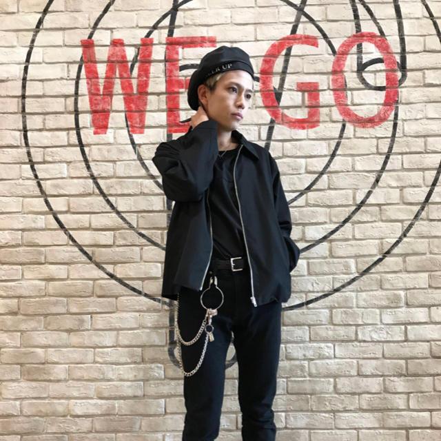WEGO(ウィゴー)の【今期】スイングアウター ブラック メンズのジャケット/アウター(ブルゾン)の商品写真