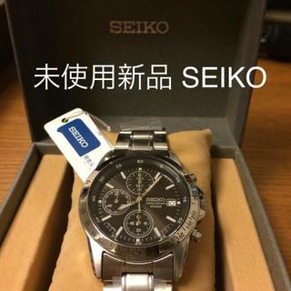 セイコー(SEIKO)の【未使用新品!】SEIKO クロノグラフ(腕時計(アナログ))