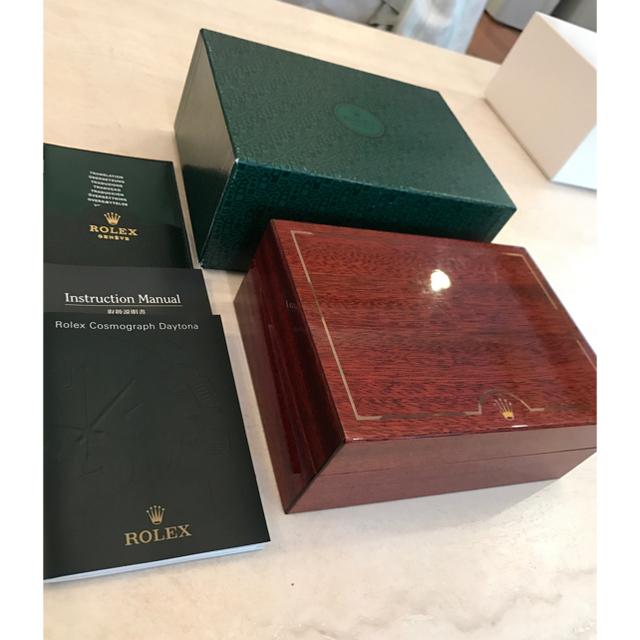wholesale dealer 792a5 d278e ROLEX ロレックス 時計 ケース BOX 空箱 木箱 正規品 純正 | フリマアプリ ラクマ