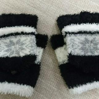 シマムラ(しまむら)の毛糸の手袋(手袋)