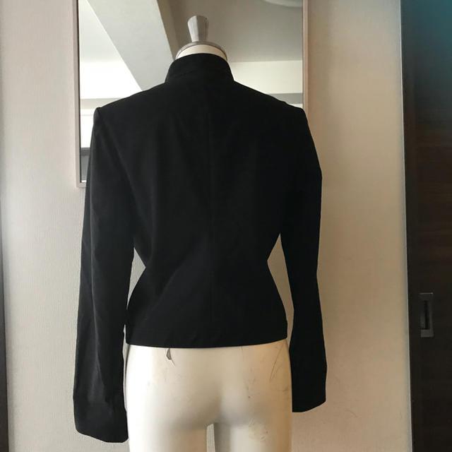 UNTITLED(アンタイトル)の黒ライダースジャケット レディースのジャケット/アウター(ライダースジャケット)の商品写真