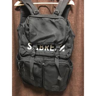 セイバー(SABRE)のSABRE 黒リュック(バッグパック/リュック)