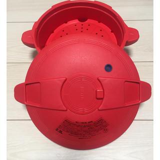 マイヤー(MEYER)の電子レンジ用圧力鍋☆送料込み(調理道具/製菓道具)