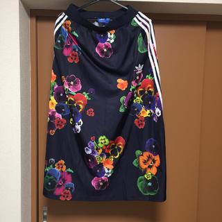 アディダス(adidas)の未使用美品!アディダス ロングスカート☆送料込み(ロングスカート)