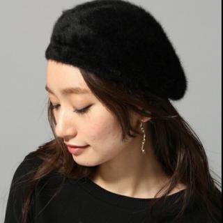 ジーナシス(JEANASIS)のジーナシス☆アンゴラコンニットベレー(ハンチング/ベレー帽)