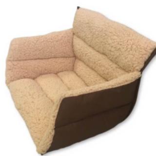【送料無料】座れる毛布☆ 暖かクッション毛布 冷え性対策に!(ビーズソファ/クッションソファ)