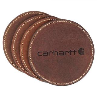 カーハート(carhartt)のCarhartt カーハート レザー コースター 茶 1枚(その他)