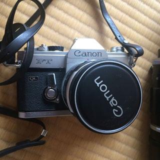キヤノン(Canon)の年代物❗️カメラセット(フィルムカメラ)