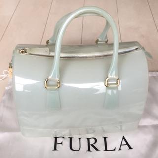 5409723b43b3 フルラ(Furla)のFURLA☆キャンディバッグ☆ライトグリーン(ハンドバッグ)