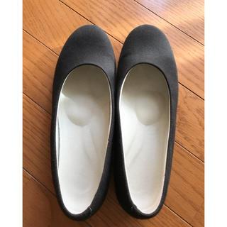 ムジルシリョウヒン(MUJI (無印良品))の無印良品 黒パンプス(ハイヒール/パンプス)