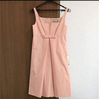 c2c7a03965a6b フォクシー(FOXEY)の美品 foxey ミリー ドレス ワンピース 38 ピンク フォクシー(ひざ