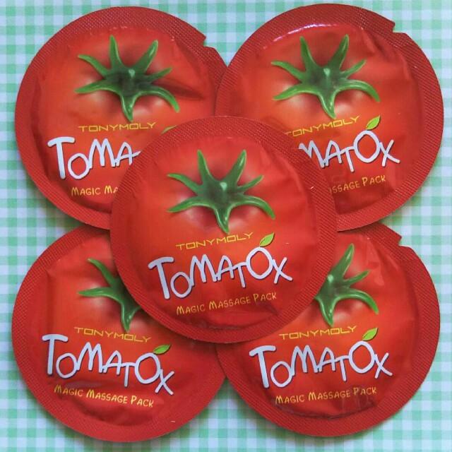 超立体マスク 箱 | TONY MOLY - ☆トマトックス☆5枚の通販