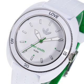 アディダス(adidas)の新品未使用 adidas スタンスミス 腕時計 ウォッチ ホワイト×グリーン(腕時計)