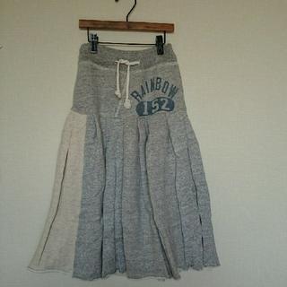 ゴートゥーハリウッド(GO TO HOLLYWOOD)のきのこのこのこ様専用 ゴートゥーハリウッド スウェットマキシスカート 120(スカート)