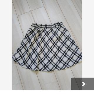 アベイル(Avail)のチェック膝上スカートMサイズ Avail(ミニスカート)