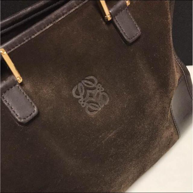 LOEWE(ロエベ)の正規品 ロエベ アマソナ32 ダークブラウン レディースのバッグ(ハンドバッグ)の商品写真