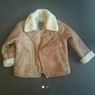 ベビーギャップ(babyGAP)のbabygap フェイクムートン ライダース 90cm(ジャケット/上着)