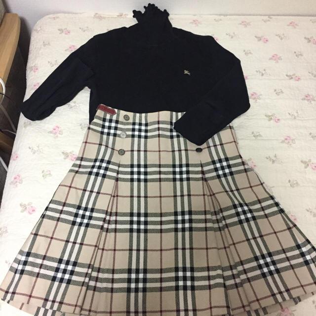 バーバリー ブルーレーベル38 レディースのスカート(ミニスカート)の商品写真