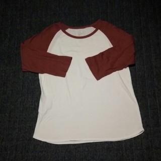 ムジルシリョウヒン(MUJI (無印良品))の無印 メンズラグランスリーブ七歩袖(Tシャツ/カットソー(七分/長袖))