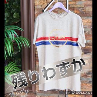 レディー(Rady)のレディ かすれフレームTシャツ(Tシャツ/カットソー(半袖/袖なし))