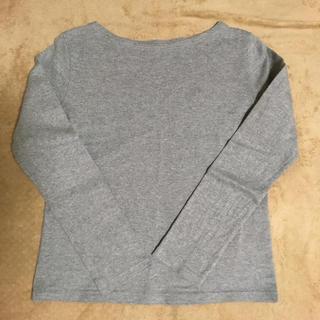 ムジルシリョウヒン(MUJI (無印良品))の無印良品 ボートネックTシャツ(Tシャツ(長袖/七分))