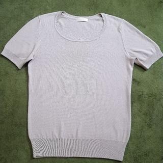 ユニクロ(UNIQLO)の値下げ‼クールネックユニクロ半袖セーター(ニット/セーター)