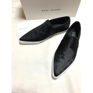 マークジェイコブス(MARC JACOBS)のMARC JACOBS アーモンドトゥシューズ(ローファー/革靴)