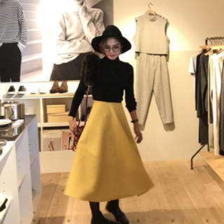 ルシェルブルー(LE CIEL BLEU)の専用    birthday bash     今期ボンディングスカート(ひざ丈スカート)
