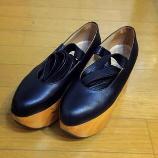 ヴィヴィアンウエストウッド(Vivienne Westwood)のvivienne westwood ロッキンホース バレリーナ 黒 正規品(ローファー/革靴)