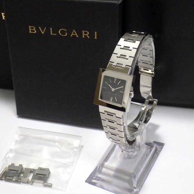 buy popular 6507b 89fca 【BVLGARI】ブルガリ クアドラード SQ22S レディース 腕時計   フリマアプリ ラクマ