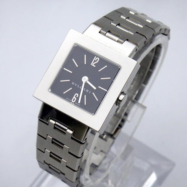 on sale 073ce ecd69 【BVLGARI】ブルガリ クアドラード SQ22S レディース 腕時計