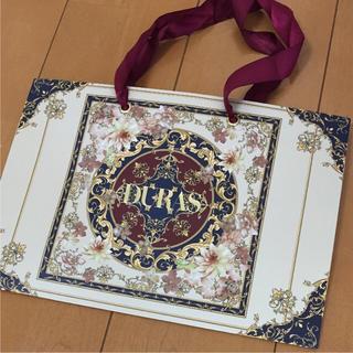 デュラス(DURAS)の超美品 DURAS デュラス ショッパー ショップ袋(ショップ袋)