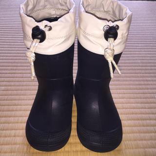 ムジルシリョウヒン(MUJI (無印良品))のあずきクリーム様専用    無印良品 長靴  紺(長靴/レインシューズ)