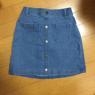 ジーユー(GU)のデニムスカート♡GU(スカート)