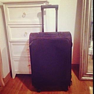 ムジルシリョウヒン(MUJI (無印良品))の無印良品 四輪キャリーバッグ(スーツケース/キャリーバッグ)