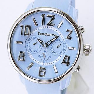 テンデンス(Tendence)のテンデンス TG765002 G47 マルチファンクション ライトブルー 腕時計(腕時計)