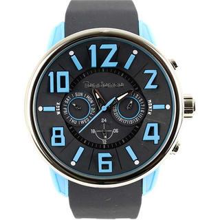 テンデンス(Tendence)のテンデンス TG765003 G47 マルチ ブラックアンドブルー 腕時計(腕時計(アナログ))