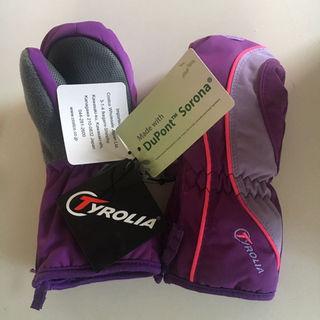 チロリア(TYROLIA)の新品 Outlast スキーグローブ スノーグローブ 手袋(手袋)
