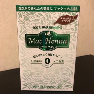 マック(MAC)のマックヘナ 髪染め ナチュラルブロンズ(白髪染め)