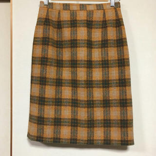 ロキエ(Lochie)のLochie購入 チェックスカート(ひざ丈スカート)