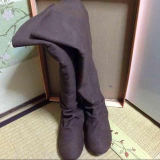 ロングブーツ 着払いの場合2000円に下げます!.(ブーツ)
