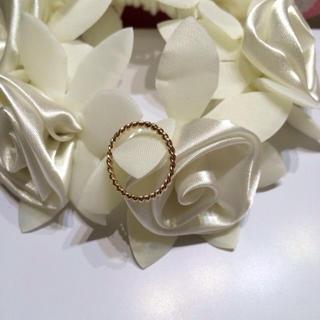 新品 ピンクゴールド 指輪(リング(指輪))