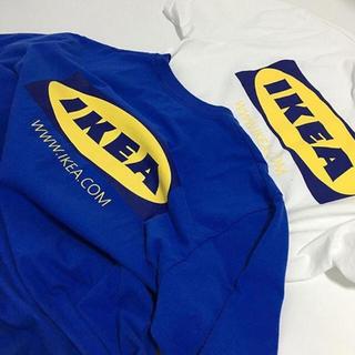 イケア(IKEA)のIKEA ロゴ Tシャツ 新品半袖 (Tシャツ/カットソー(半袖/袖なし))